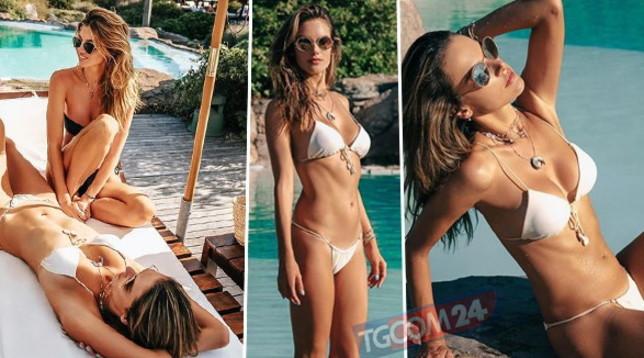 Alessandra Ambrosio, vacanza bollente con l'amica