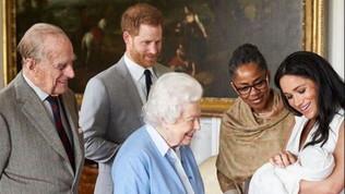 Meghan presenta il suo Archie: le foto che emozionano