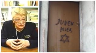 Cuneo,scritta shock a casa del figlio di una ex deportata: