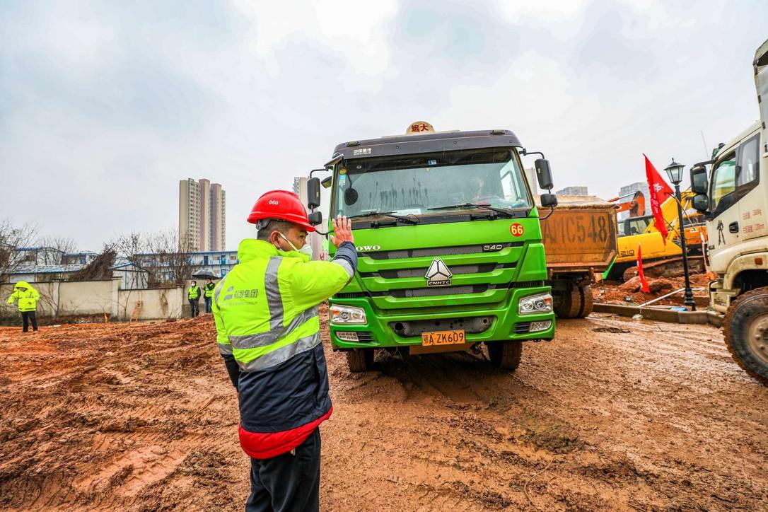 Cina, costruzione lampo dell'ospedale a Wuhan