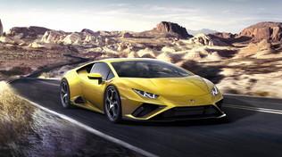 Lamborghini Huracan EVO chiama, Alexa risponde