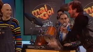 "Quando Pappalardo cantò ""Ricominciamo"" a ""Mai dire Gol"" con Marco Pantani"