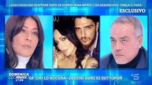 """Michele Favoloso a """"Domenica Live"""": """"Mio figlio ferito da Nina Moric"""""""
