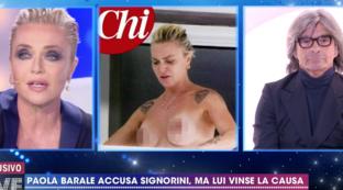 """Paola Barale contro le riviste scandalistiche: """"Non potete prendere il mio corpo e venderlo"""""""