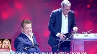 """Vittorio Cecchi Gori a """"Live - Non è la d'Urso"""": """"Rita Rusic è la donna della mia vita"""""""