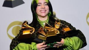 Grammy Awards 2020: daBillie Eilish a Elvis Costello, le foto di tutti i premiati