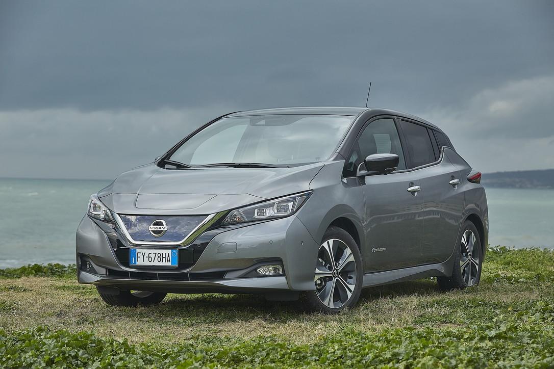 Nissan Leaf e+, l'auto elettrica con le batterie ultra ...