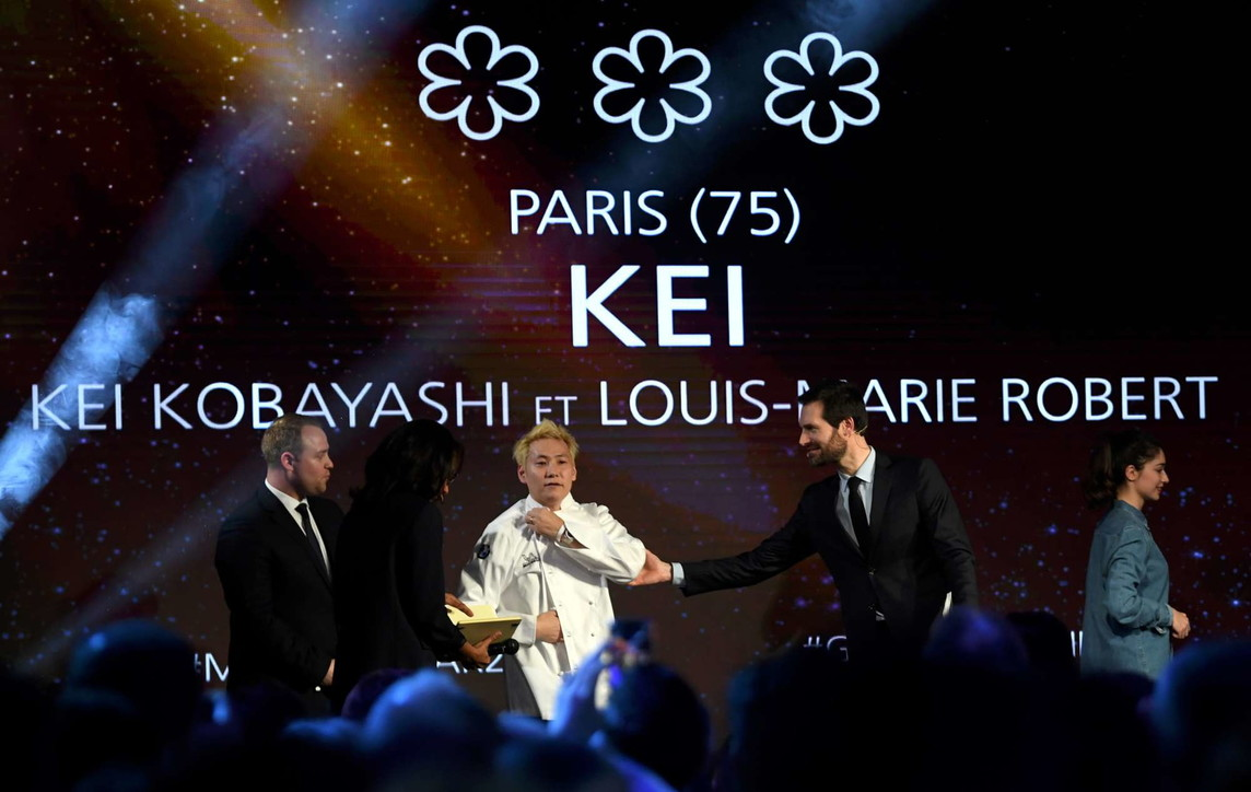 Francia, allo chef giapponese Kobayashi 3 stelle Michelin