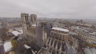 Rebuilding Notre Dame, un documentario in realtà virtuale