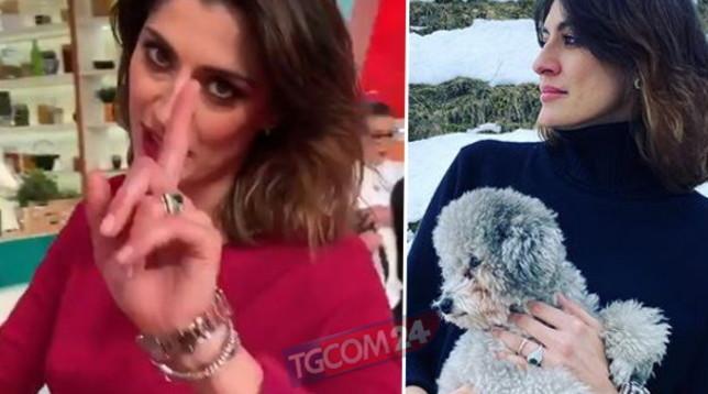 Elisa Isoardi con il brillocco, spunta l'anello di fidanzamento?