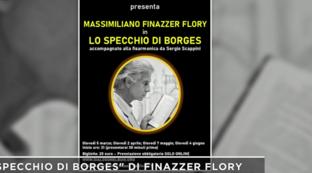 """""""Lo specchio di Borges"""", lo spettacolo al buio di Massimiliano Finazzer Flory"""