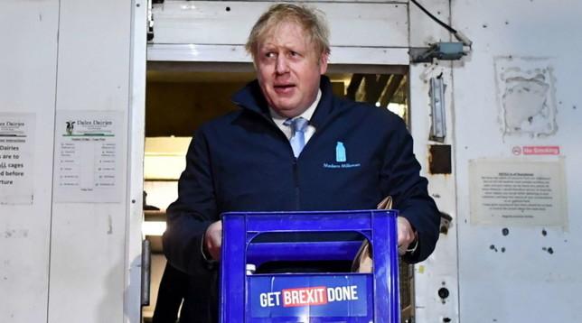 Gb elezioni Boris Johnson