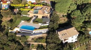 Genova, sequestrata villaaffittata in nero a mille euro al giorno