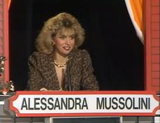 """Quando Alessandra Mussolini parlava dell'Oscar a Sophia Lorenal """"Gioco dei 9"""""""