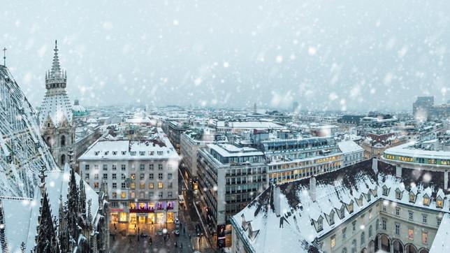 Vienna d'inverno, niente di più romantico
