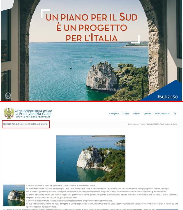 Il governo lancia il Piano per il Sud, ma in copertina c'è il mare di Trieste