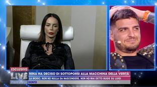 """""""Live- Non è la d'Urso"""", Nina Moric si sottopone alla macchina della verità"""