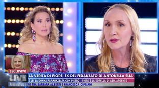 """Fiore Argento: """"Non ho chiamato Pietro per vederci, ha parlato solo di Antonella Elia"""""""