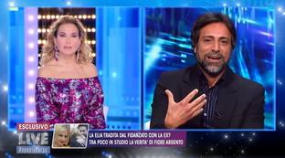 """Barbara d'Urso perde le staffe con Pietro Delle Piane: """"Non essere cafone"""""""