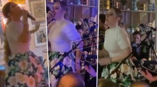 Adele super magra cantaal matrimonio dell'amica