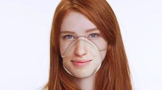 Coronavirus, contro il contagio la mascherina personalizzata per farsi