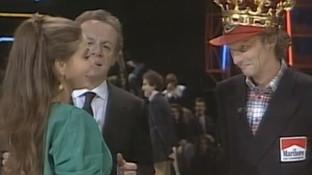 "1949 nasceva Niki Lauda: rivediamolo a ""Premiatissima"" 1984"