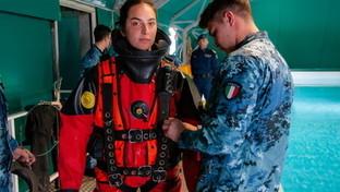 Nella Marina arriva la prima donna palombara: venerdì la consegna del brevetto