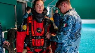 Ecco Chiara, la prima donna palombara della Marina