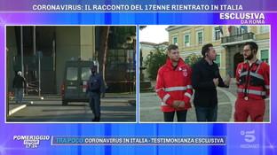 """Coronavirus, gli infermieri in ambulanza con Niccolò: """"Tutti bardati, non riuscivamo a parlare"""""""