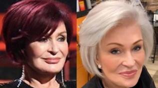 Sharon Osbourne è diventata... bianca