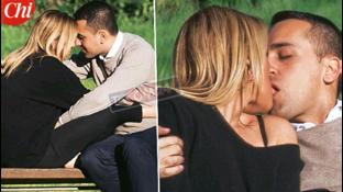 Luigi Di Maio al parco, che baci bollenti con Virginia!