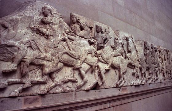 I marmi del Partenone contesi tra Londra e la Ue