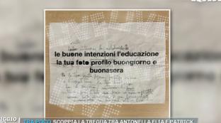 """""""Pomeriggio Cinque"""" mette all'asta il foglio scritto a mano da Morgan a Sanremo"""