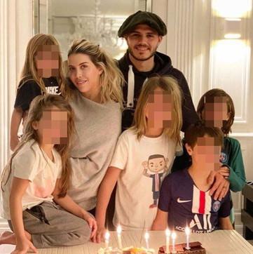 Mauro Icardi festeggia il compleanno, ma il regalo prezioso è per Wanda Nara