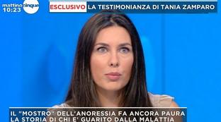 """Anoressia, la testimonianza di Tania Zamparo: """"Non riuscivo ad alzarmi dal letto"""""""