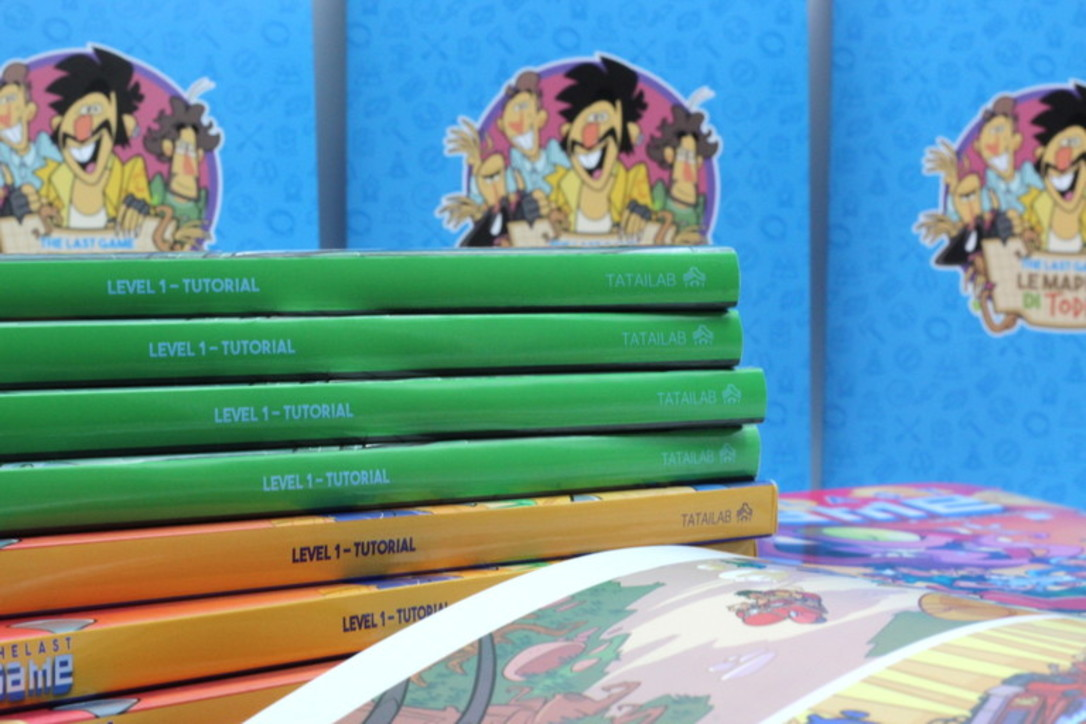 The Last Game, le foto del fumetto con protagonisti i redattori di Everyeye.it