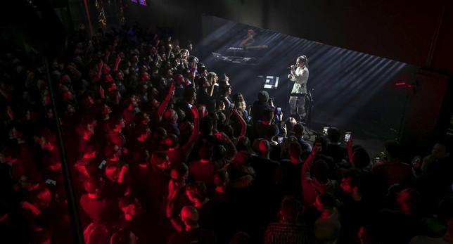 "Francesca Michielin presenta live ""Gange"""