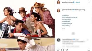 """""""Friends"""", la reunion ufficiale in un post di tutti gli attori"""