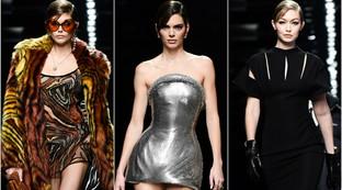 MFW 2020, Versace uomo e donna: forza, cervello e nuove sensualità