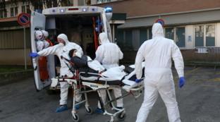 Coronavirus, l'arrivo dei contagiati all'ospedale di Padova