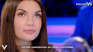 """Elettra Lamborghini a Verissimo: """"Mi sposo e voglio un figlio ma prima voglio vincere un Grammy"""""""
