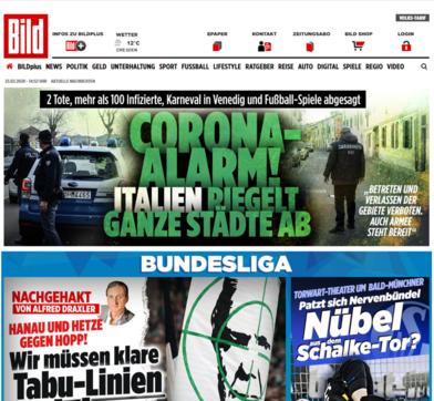 """Coronavirus in Italia: la notizia sui siti stranieri   In Francia scrivono: """"Sono in quarantena"""""""