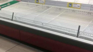 """Coronavirus, """"saccheggiati"""" i supermercati della Lombardia"""