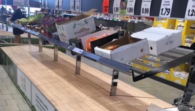 Presi d'assaltoi supermercati in Lombardia |