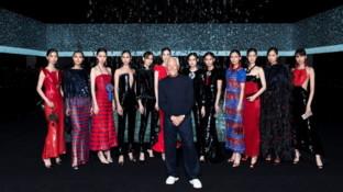 MFW 2020, Giorgio Armani: rigore e gentilezza. Con omaggio alla Cina