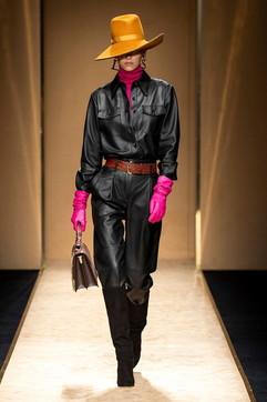 MFW 2020, Luisa Spagnoli: la donna sicura di sé osa con il colore