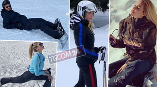 Tutti sulla neve: dalla Santarelli alla Blasi, passando per Beckham e Fontana