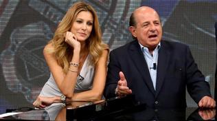 """Giancarlo Magalli sulla lite con Adriana Volpe: """"Spero che un giorno faremo pace"""""""