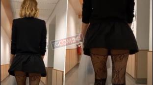 Alessia Marcuzzi ripesca un video ad alto tasso erotico e i fan sbirciano
