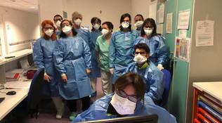 Coronavirus, su Facebook il tributo a medici e infermieri del Nord Italia: